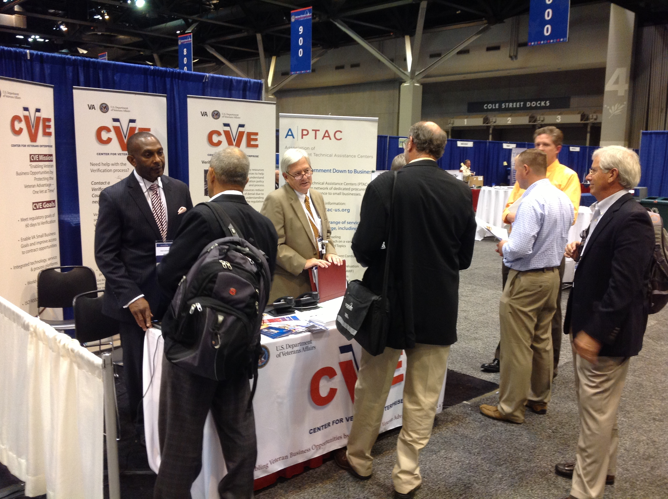 Service disabled veteran owned and veteran owned small business cve booth 2013 xflitez Choice Image
