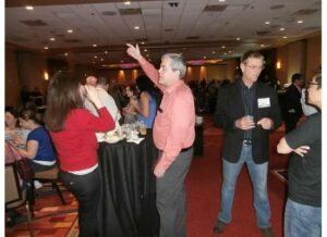 Networking reception pic