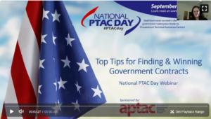 PTAC Day Webinar & Resource Links | APTAC