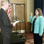 Terri Bennett Sworn in as President